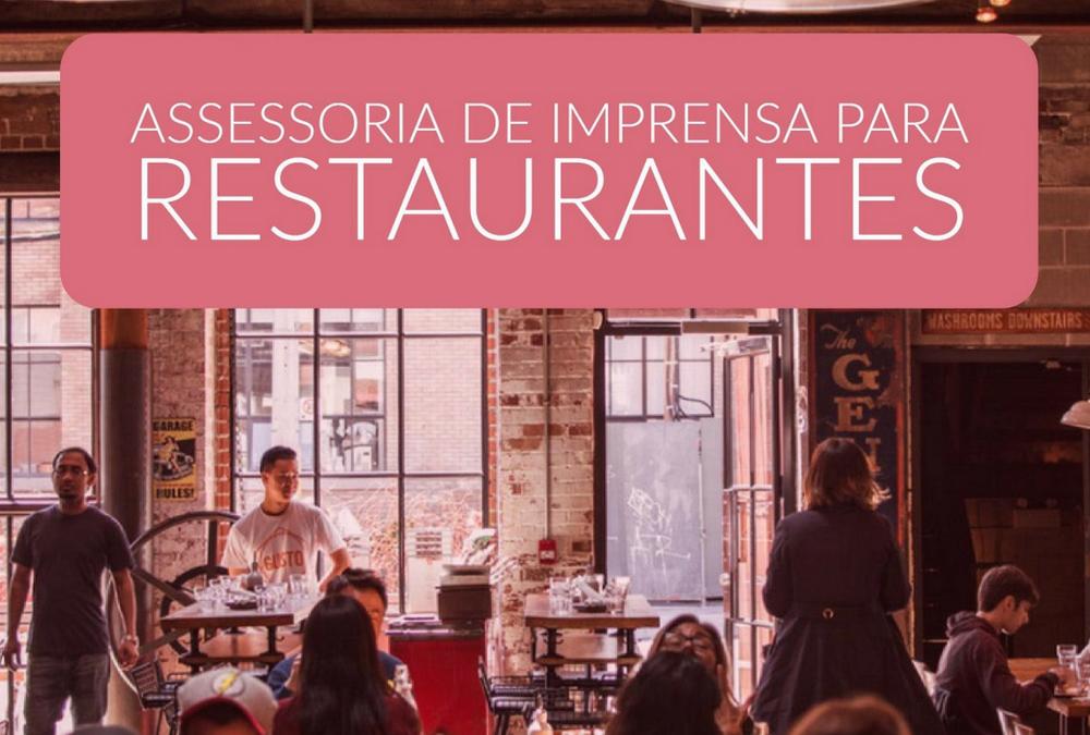 assessoria de imprensa para restaurantes