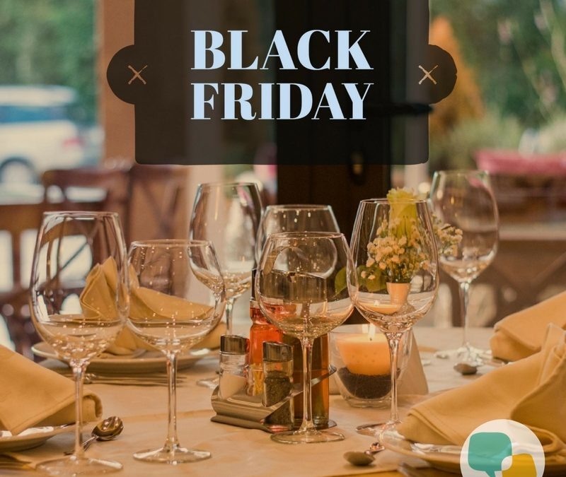 Black Friday para restaurantes